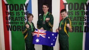 Karate Champions bring back the medals in the World Championships.