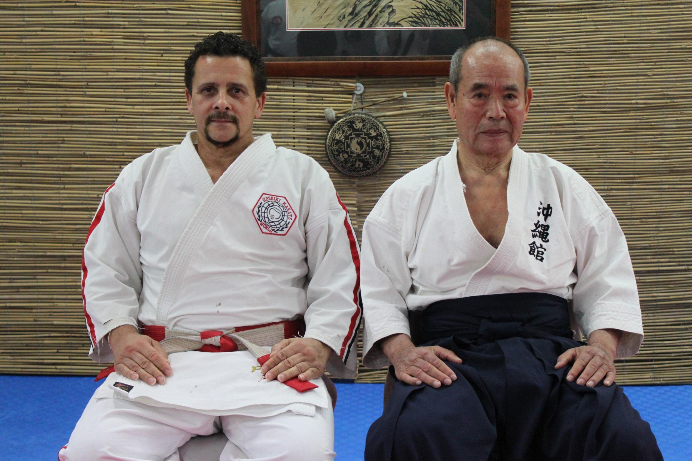 Ian and Kiichi