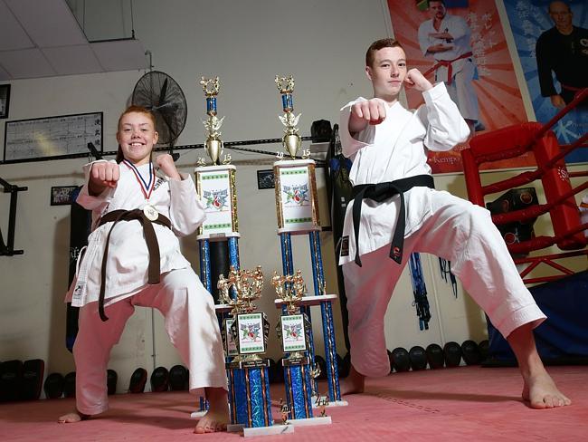 Karate World Champions Daniel Brown and Tylisha Turner