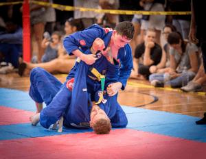 BJJ Orange Jiu Jitsu dominant position