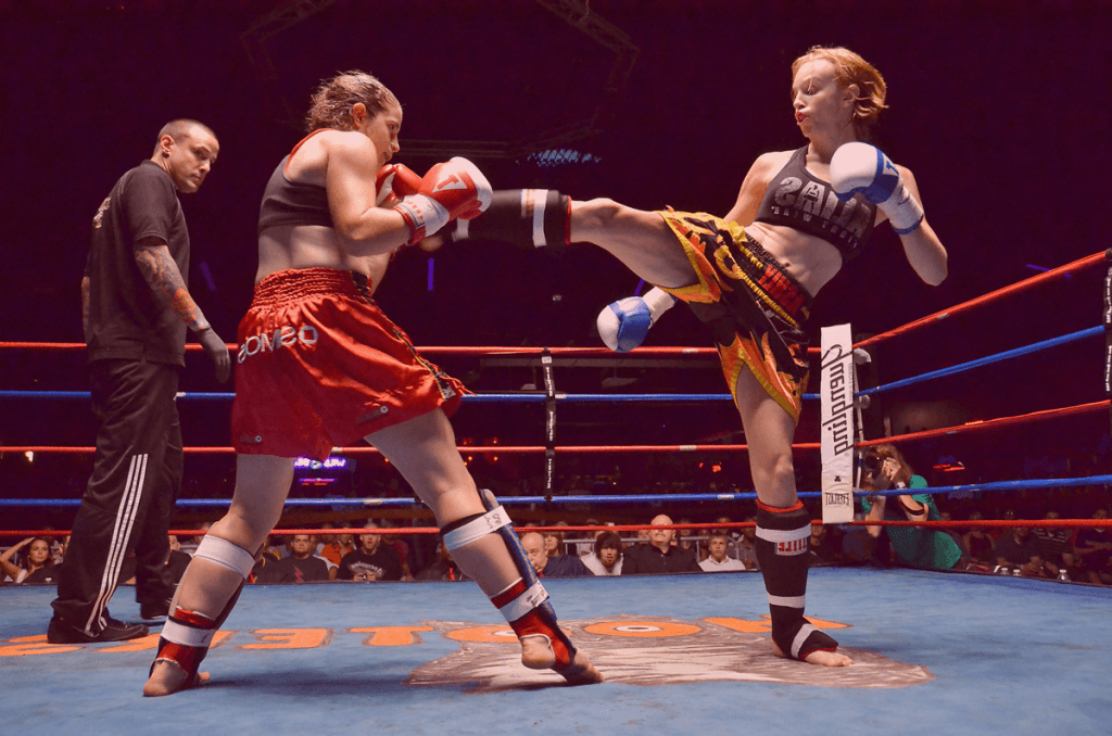 Womens Muay Thai Orange NSW